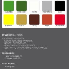 WIM Collection outdoor design rugs